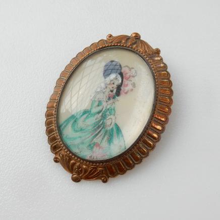 Photo of Vintage Lady Brooch by Thomas L Mott