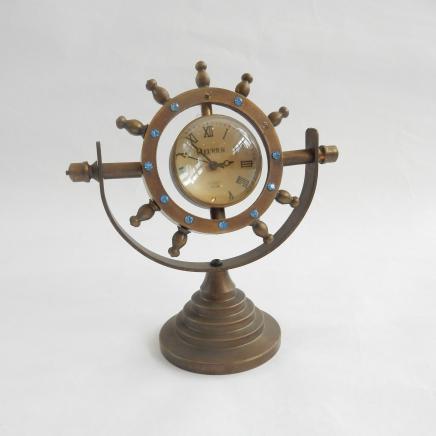 Photo of Brass Bovet Fleurier Ships Wheel Clock