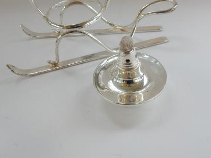 Photo of Silver Plated Brandy Drinks Warmer