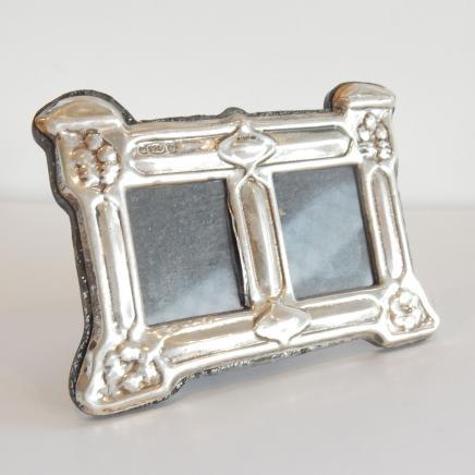 Photo of English Silver Miniature Photo Frame
