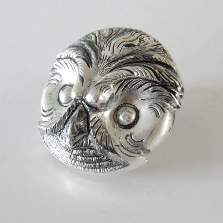 Photo of Silver-Plated Owl Vesta
