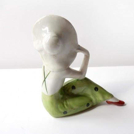 Photo of Art Deco German Porcelain Ceramic Bathing Beauty Lady Figure