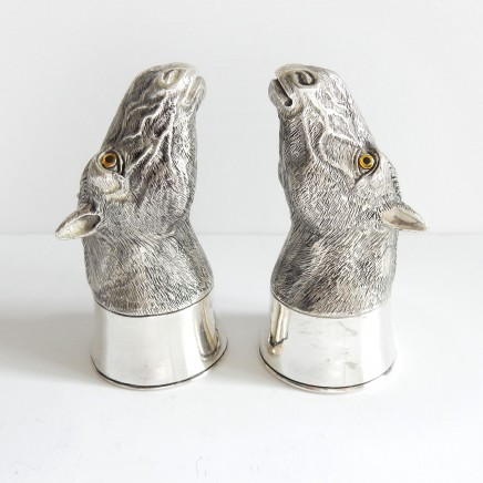 Photo of Novelty Silverplate Horse Salt & Pepper Pot