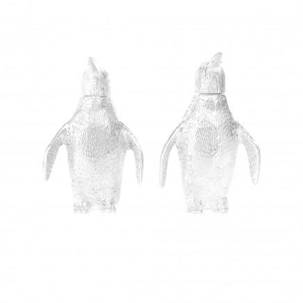 Photo of Novelty Silverplated Emperor Penguin Salt & Pepper Pot