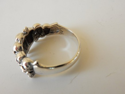 Photo of Solid Silver Skull Ring