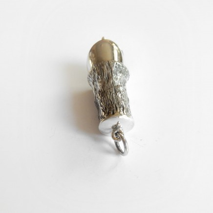 Photo of Sterling Silver Horse Hoof Vesta Match Safe