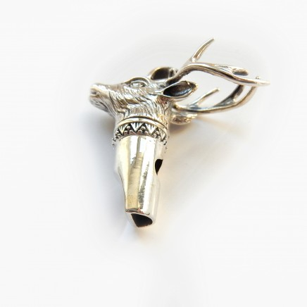 Photo of Sterling Silver Stag Hunting Whistle