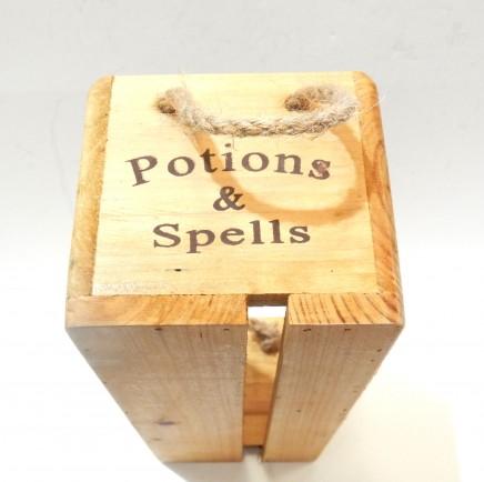 Photo of Wooden Harry Potter Hogwarts Potion Storage Box