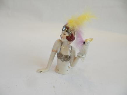 Photo of Art Deco Flapper Pin Doll