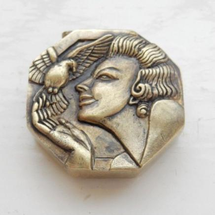 Photo of Brass Art Deco Vesta