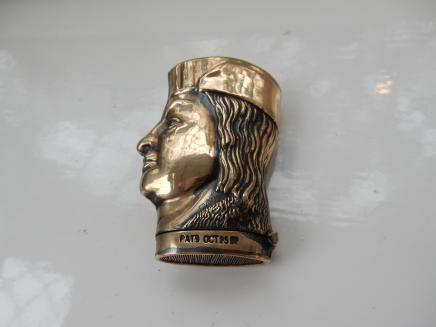 Photo of Brass Christopher Colombus Vesta