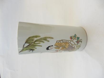 Photo of Hand Decorated Chinese Vase