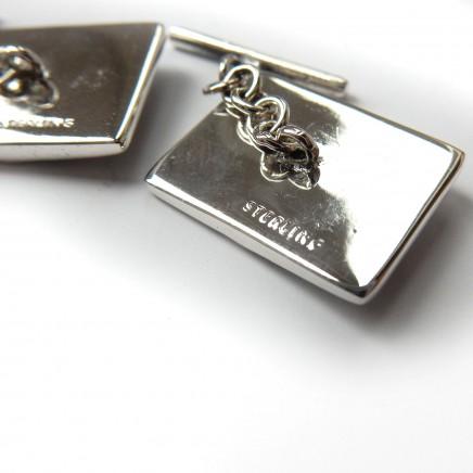 Photo of https://millysmarvels.com/cm/canonbury_admin_module/public/product/8937/editSilver Ruby American Eagle Hawk Cufflinks Sterling Silver