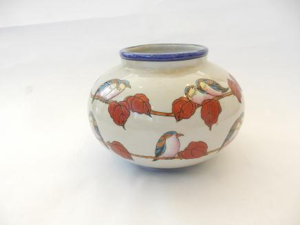 Photo of Art Deco Exotic Bird Vase