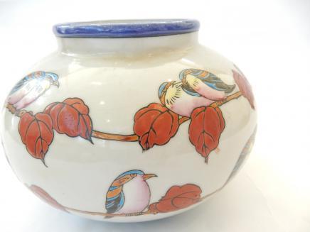 Photo of Art Deco Exotic Bird Vase