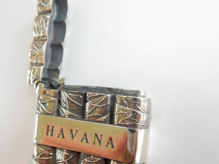 Photo of Solid Silver Havana Cigar Vesta