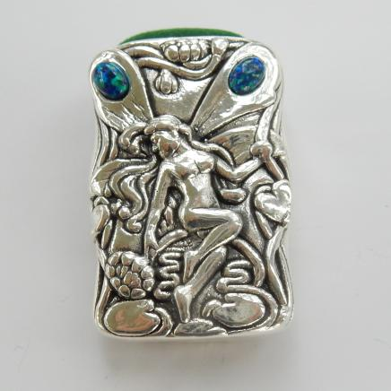 Photo of Solid Silver Opal Fairy Pin Cushion