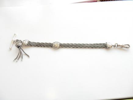 Photo of Solid Silver Albertina Chain