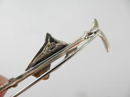 Photo of Sterling Silver Horse Stock Pin
