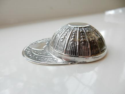 Photo of Sterling Silver Jockey Cap Tea Server