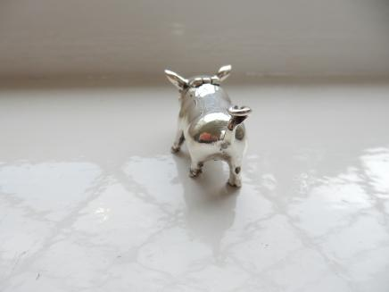 Photo of Sterling Silver Piglet Vesta