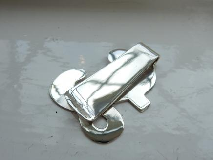 Photo of Sterling Silver Money Clip