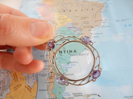 Photo of Sterling Silver & Purple Amethyst Pendant