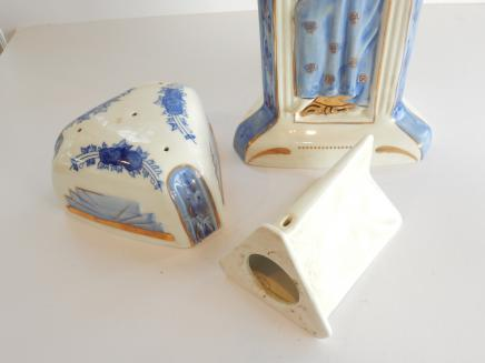 Photo of Tall Art Deco Pot Purri Fragrence Vase