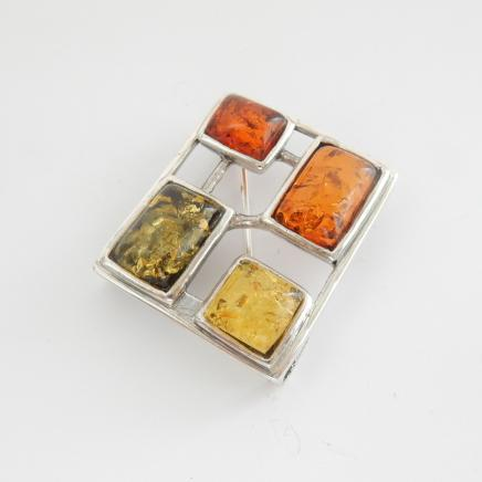 Photo of Vintage Baltic Amber Pendant