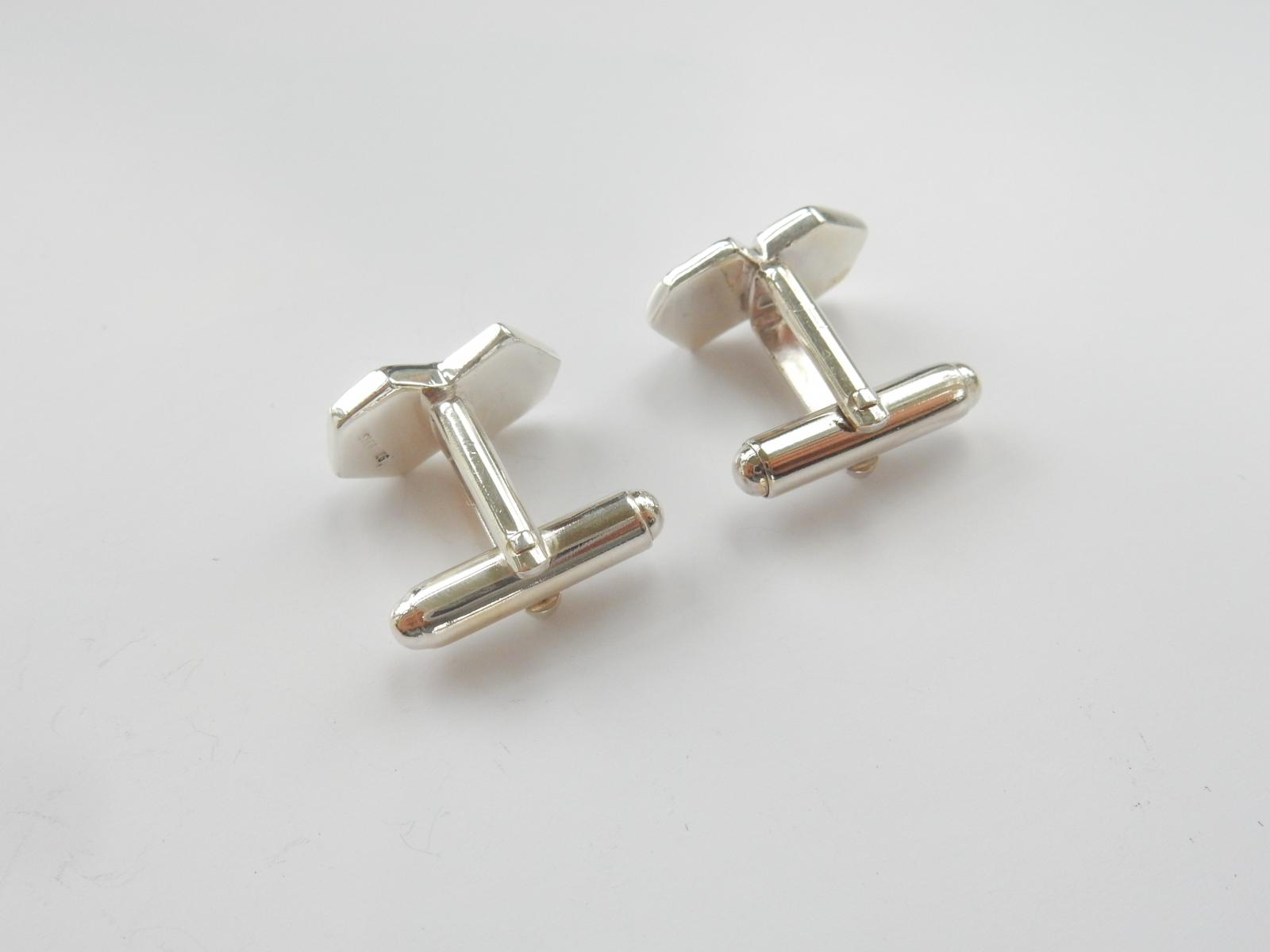Photo of Sterling Silver Playing Dice Cufflinks