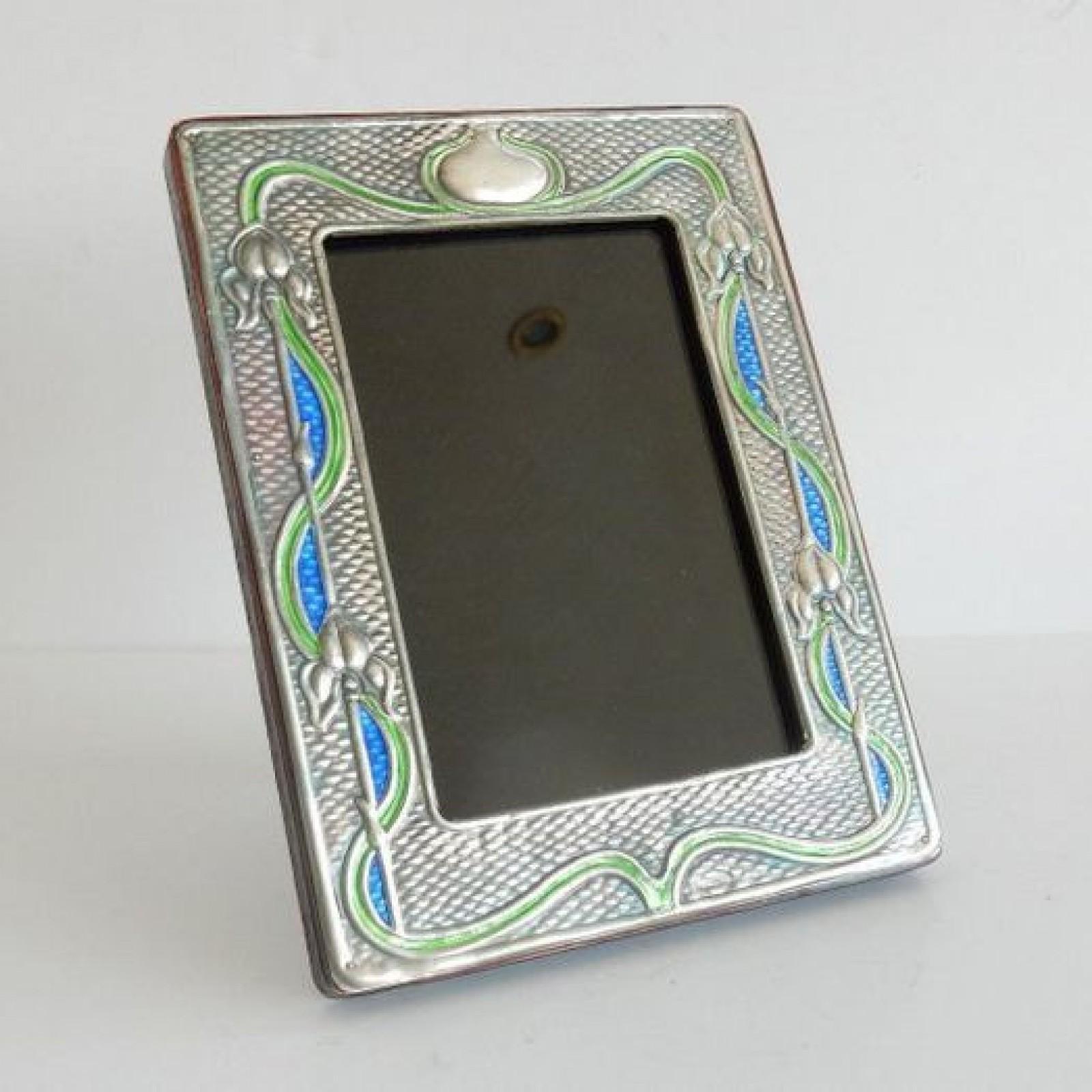 Photo of Art Nouveau Silver Photo Frame