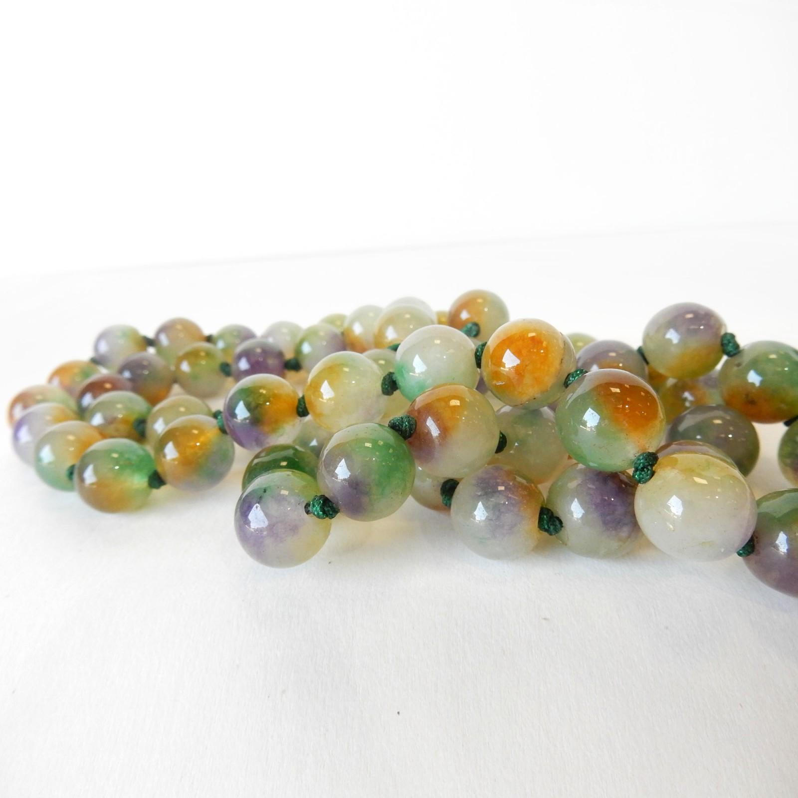 Photo of Natural Quartz String Bead Gemstone Necklace