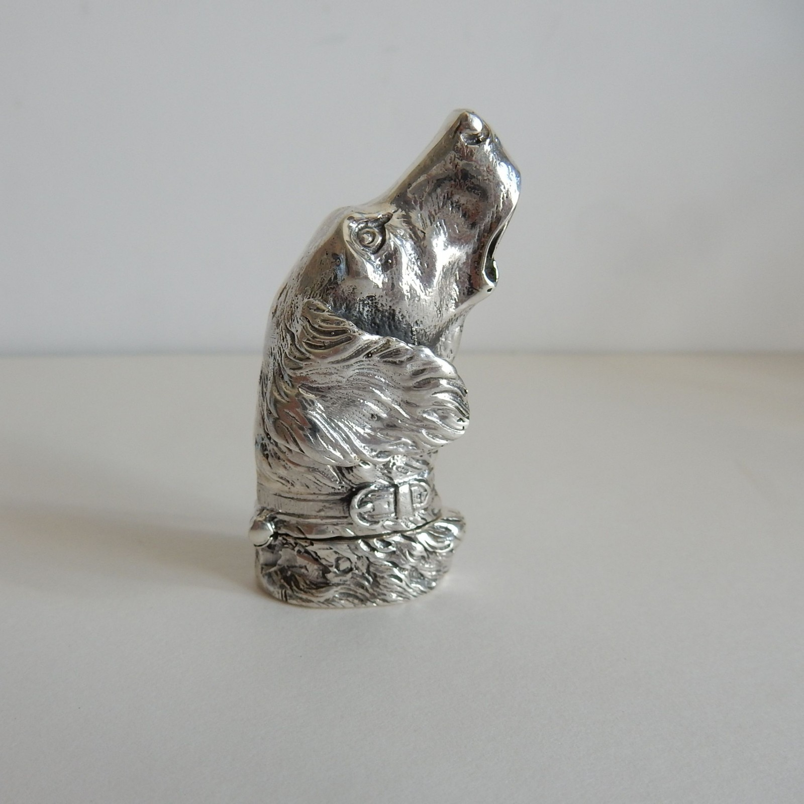 Photo of Sterling Silver Dog Vesta