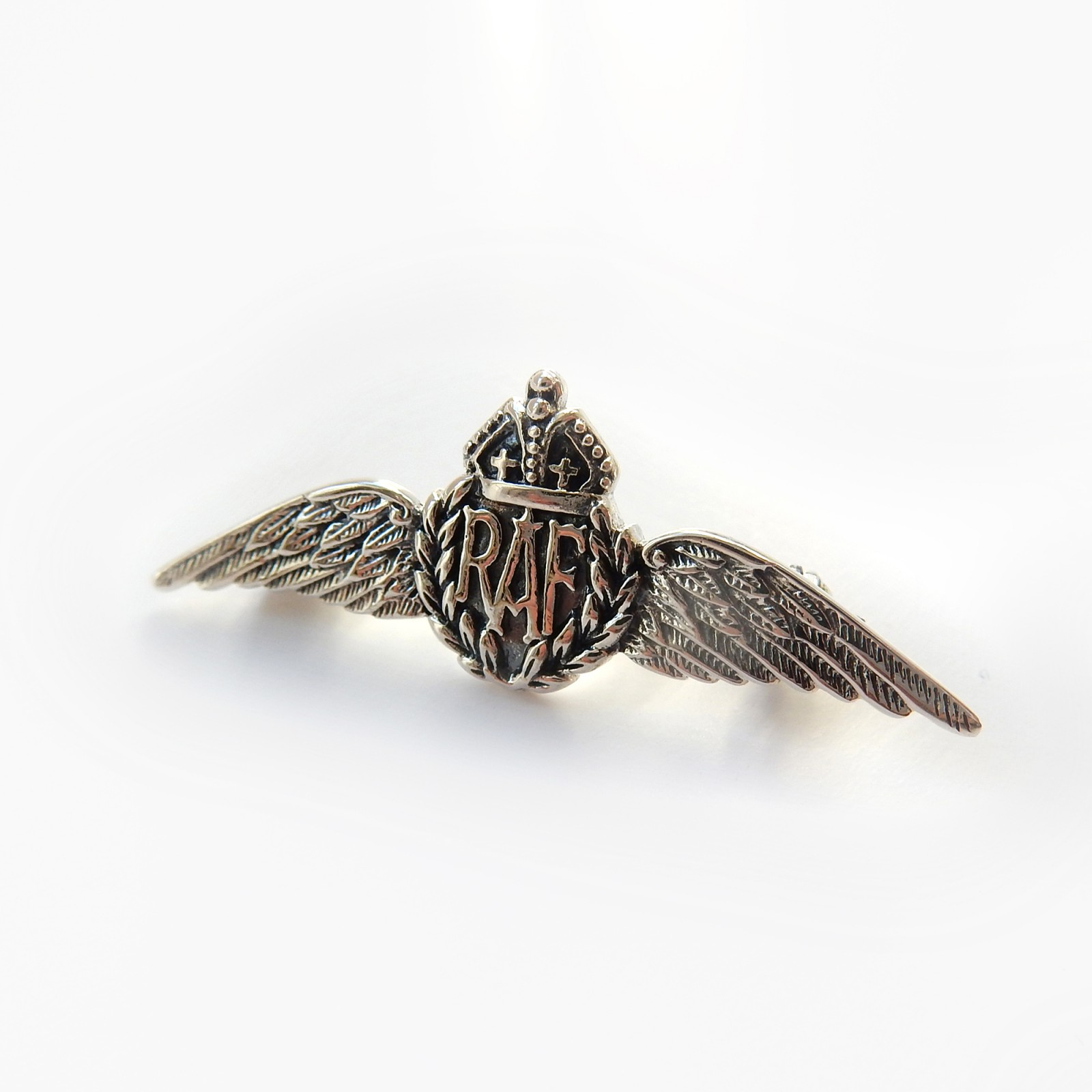 Photo of Sterling Silver RAF Royal Airforce Sweetheart Brooch