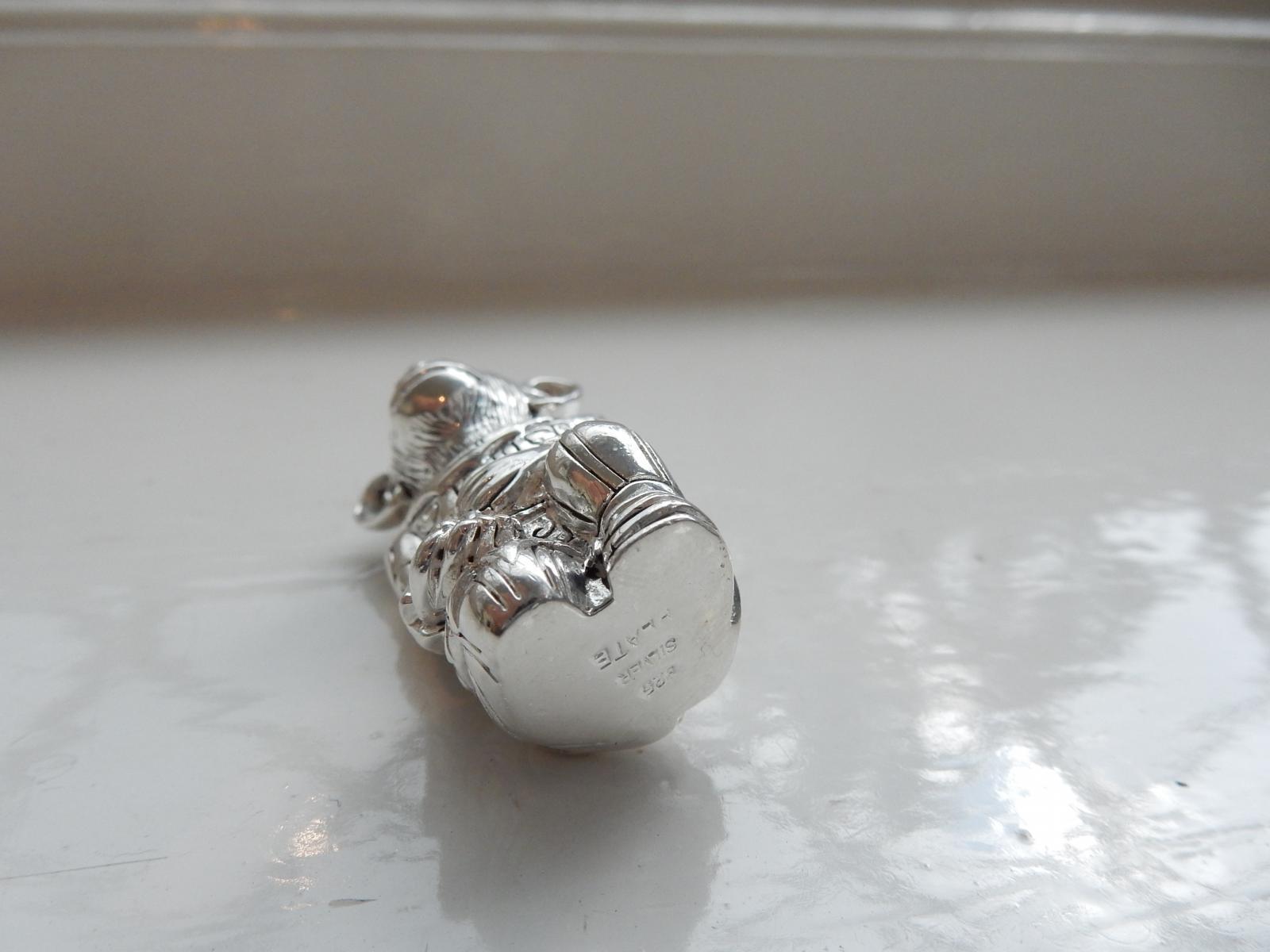 Photo of Sterling Silver Novelty Padlock Vesta