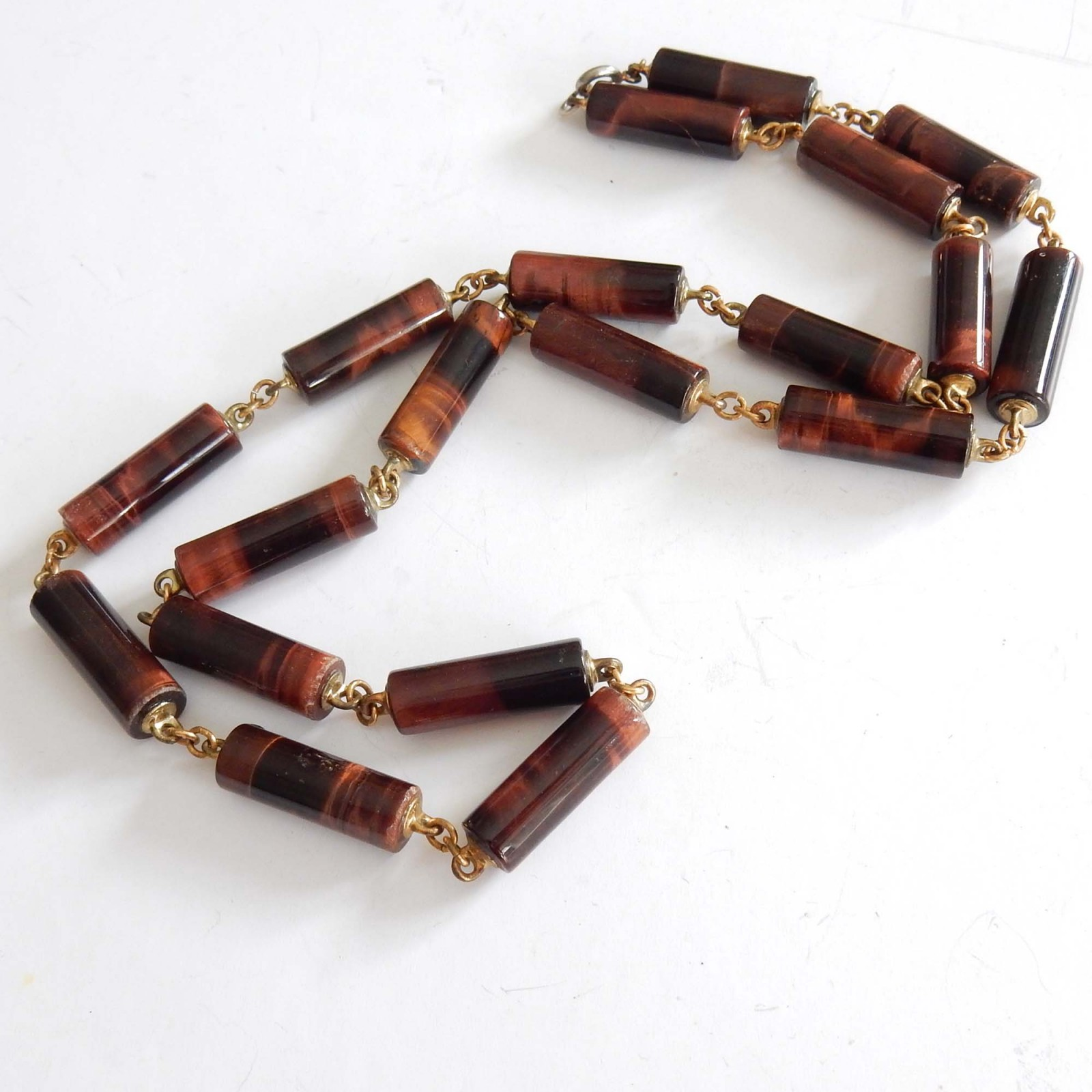 Photo of Vintage Tigers Eye Necklace