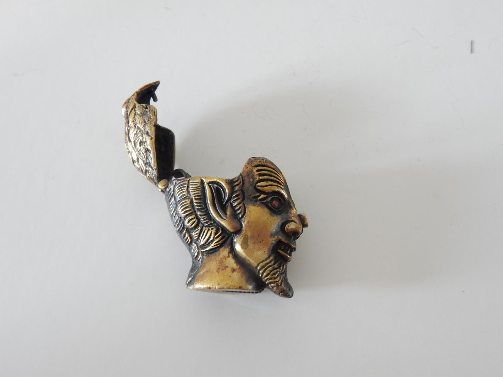 Photo of Brass & Garnet Devil Vesta