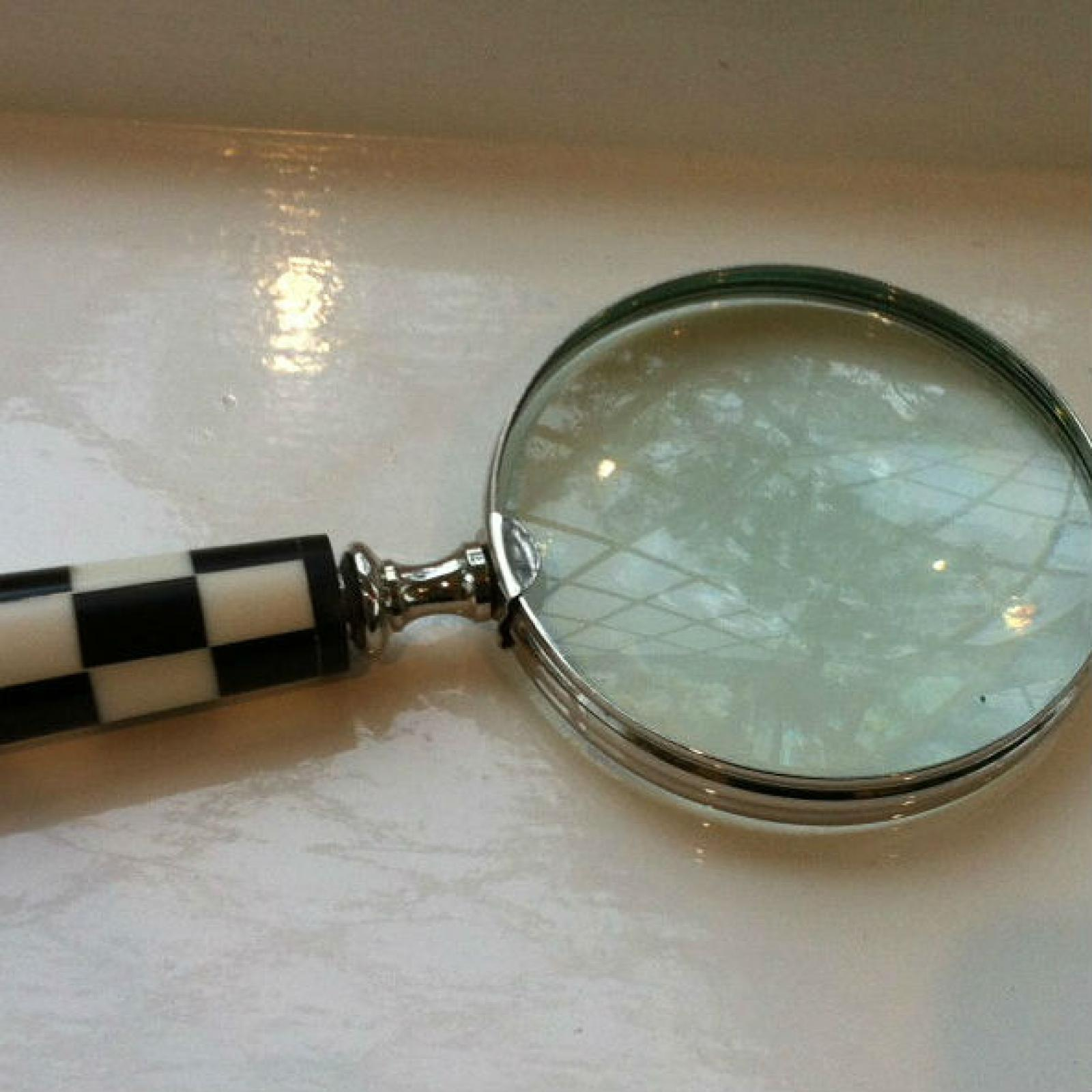 Photo of Large Chequered Magnifying Glass