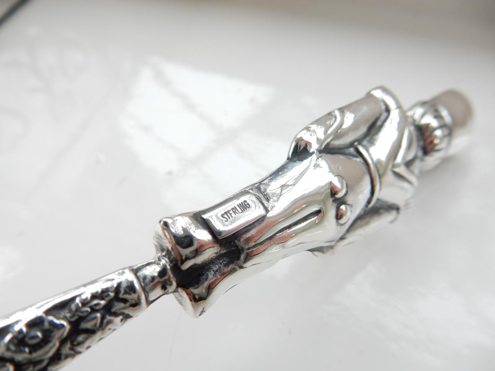 Photo of Sterling Silver Toy Soldier Baby Rattle