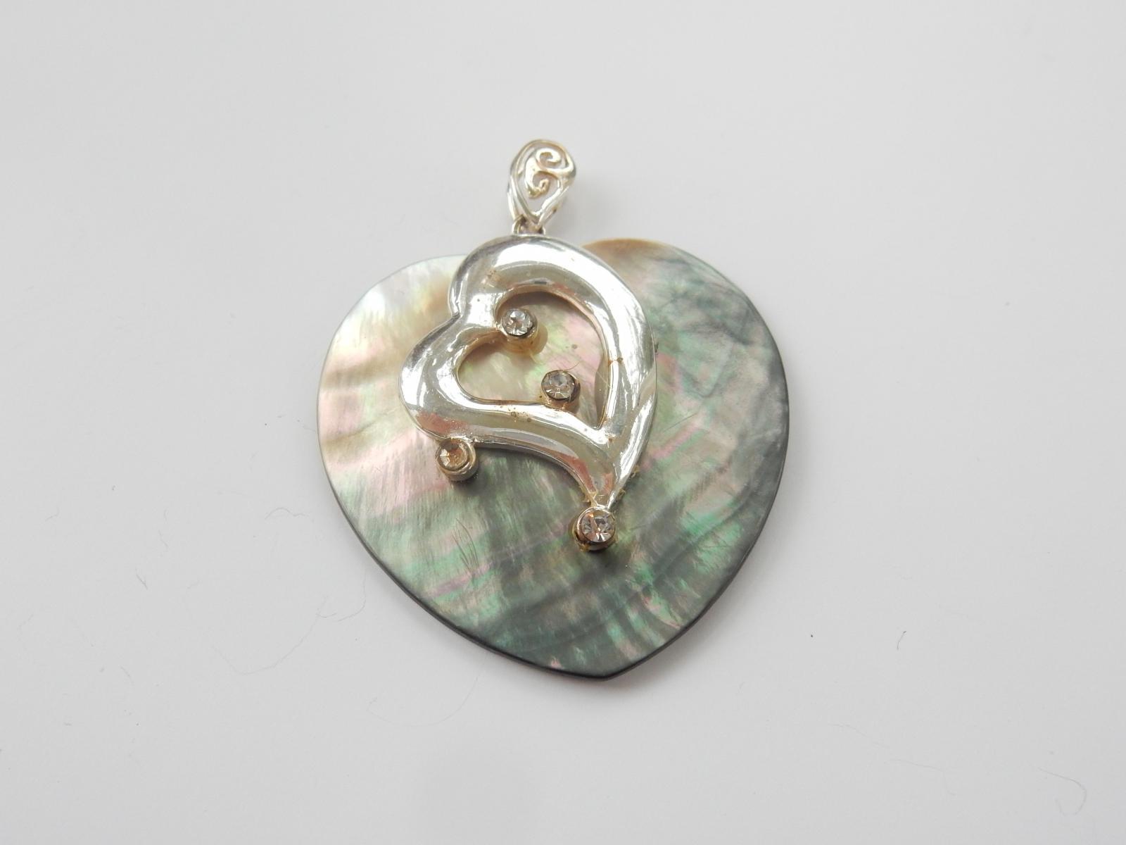 Photo of Abalone Shell Heart Pendant