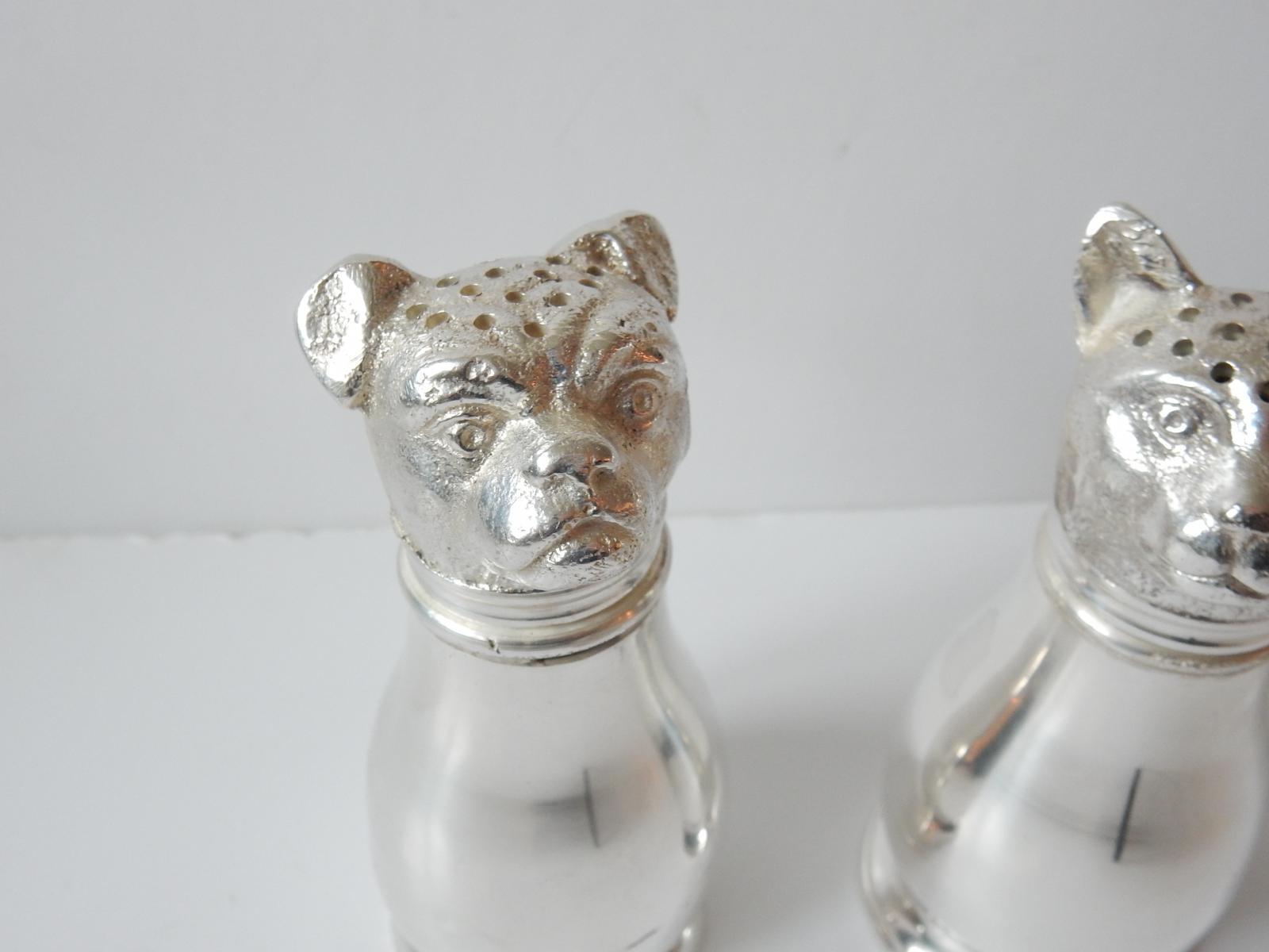 Photo of Novelty Cat & Dog Salt Pepper Shakers