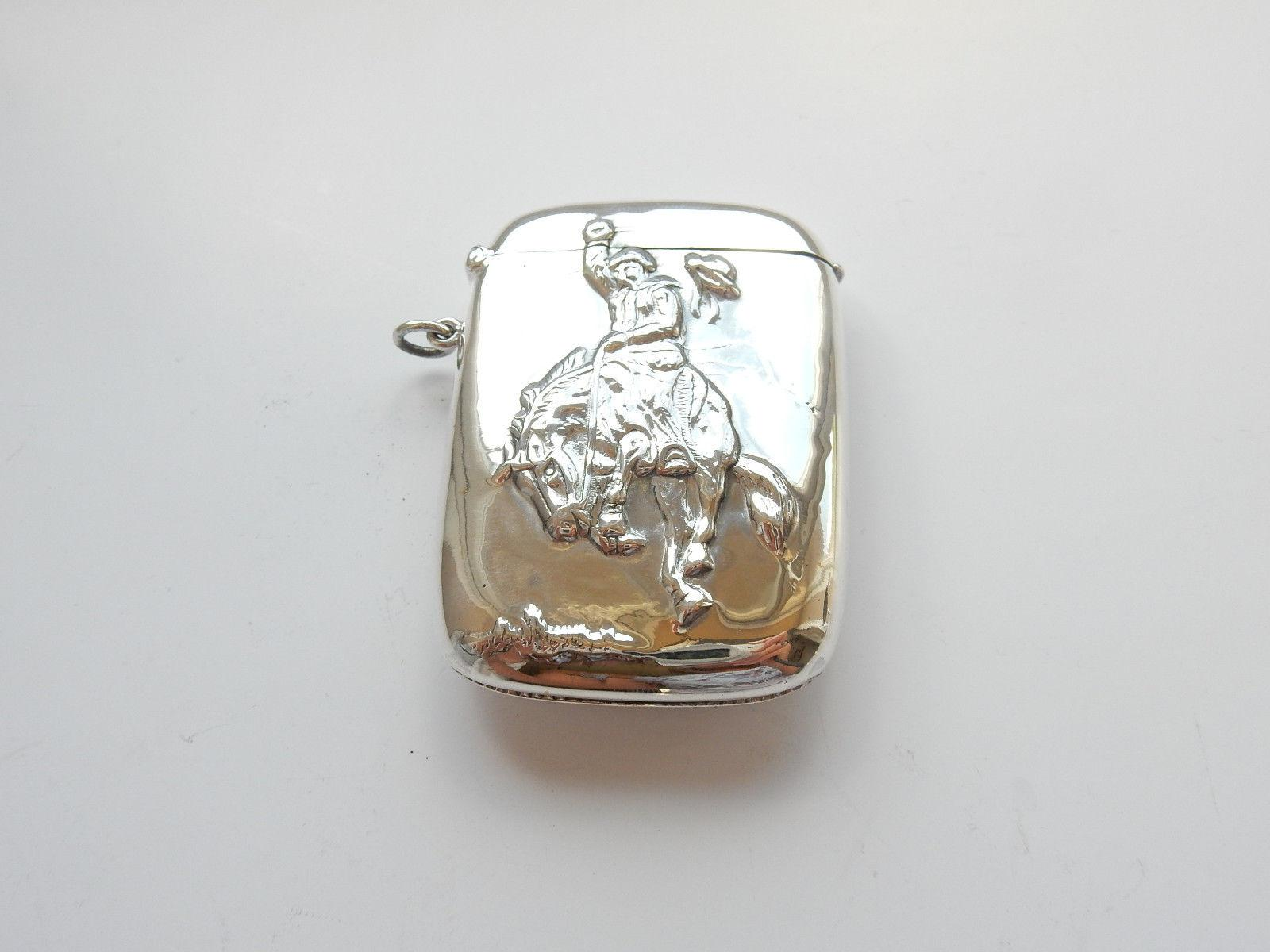 Photo of Solid Silver After Remington Cowboy Vesta