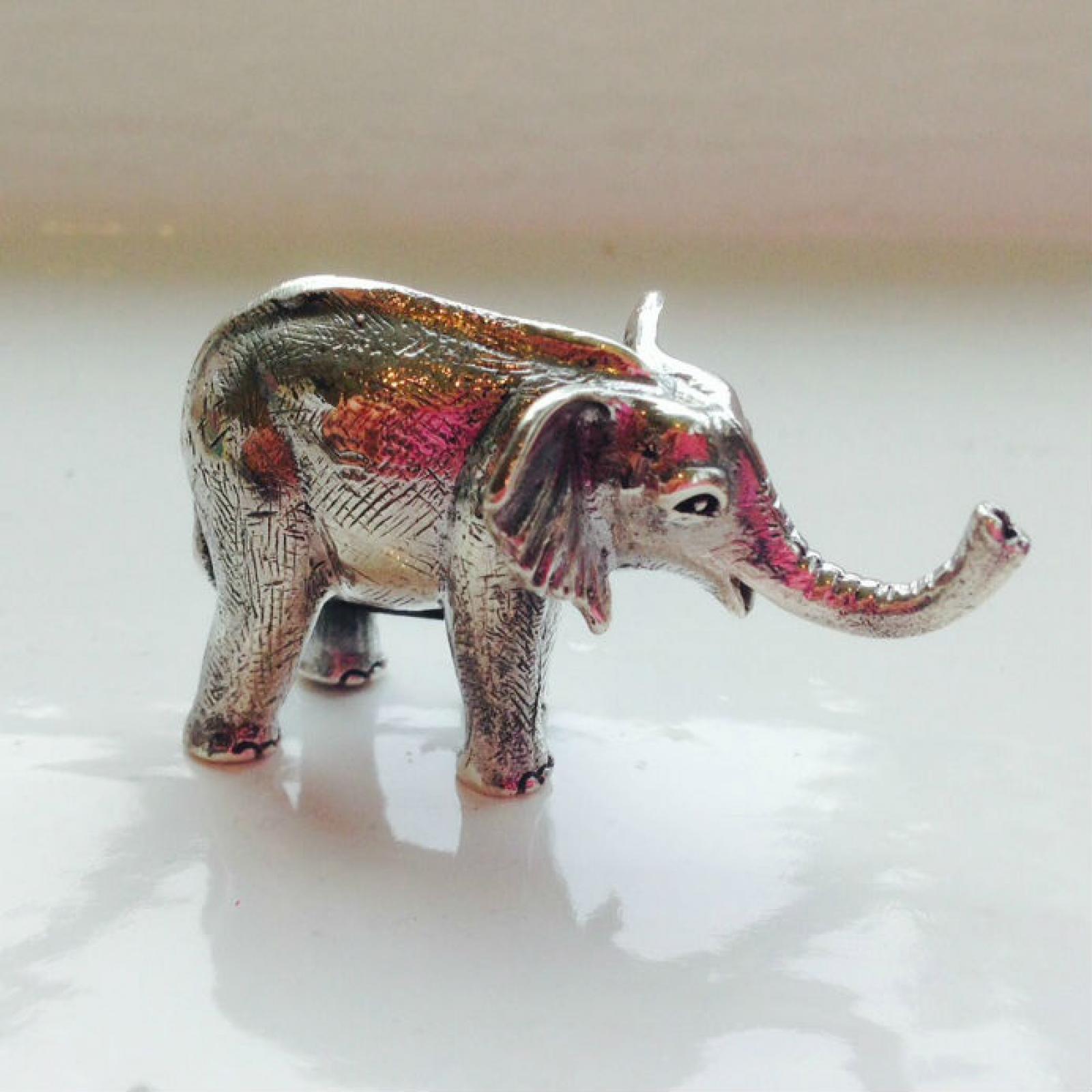 Photo of Silver Elephant Keepsake Charm