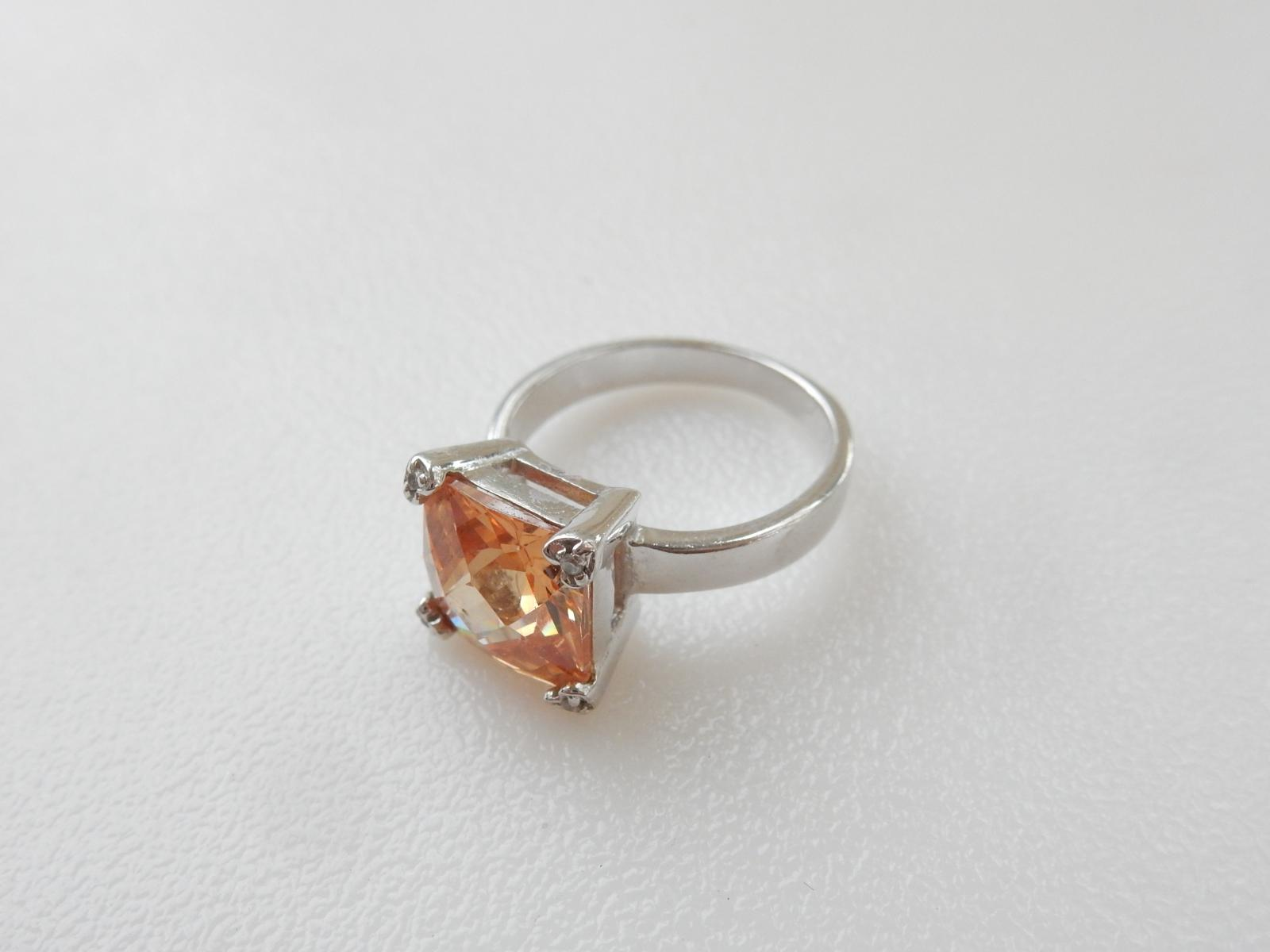 Photo of Sterling Silver Citrine Ring