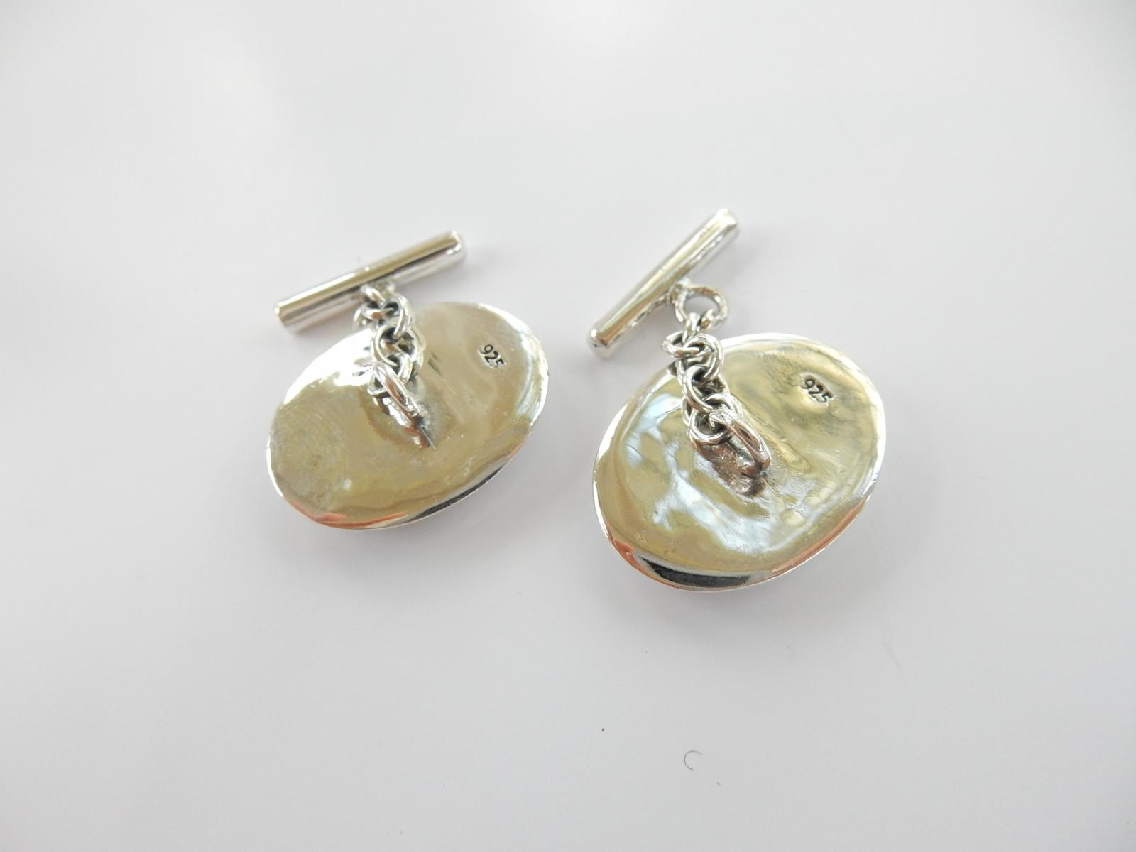 Photo of Sterling Silver Sexy Lady Cufflinks