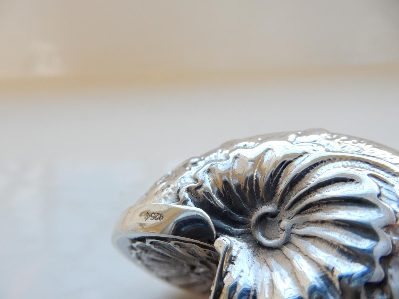Photo of Silver-Plated Sea Shell Match Safe Vesta