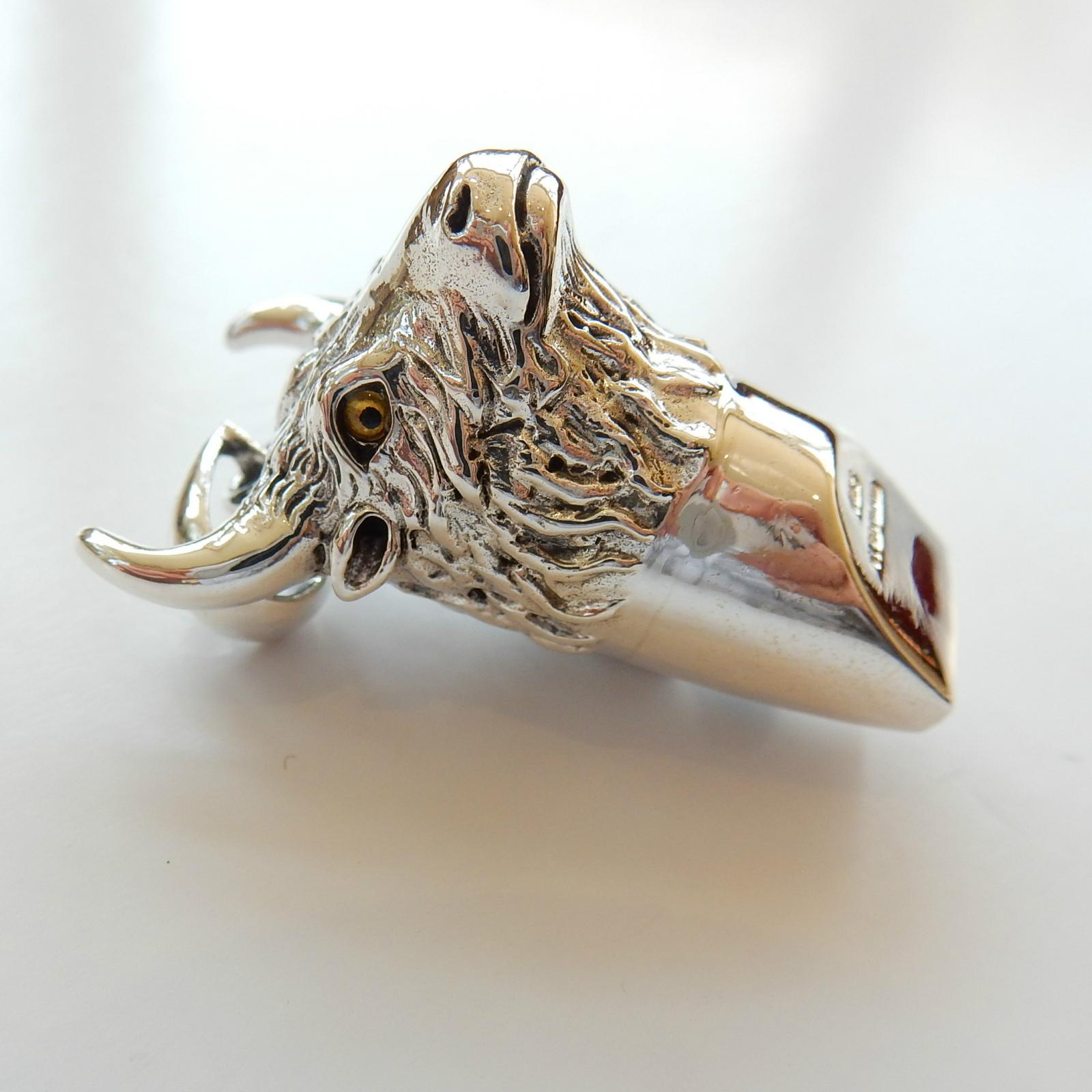Photo of Sterling Silver Bull Whistle