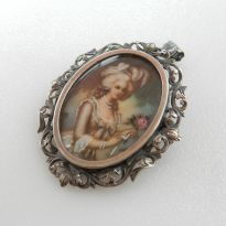 Miniature Portrait Jewellery
