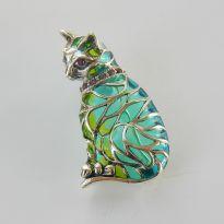 Art Nouveau Plique A Jour Enamel Jewellery